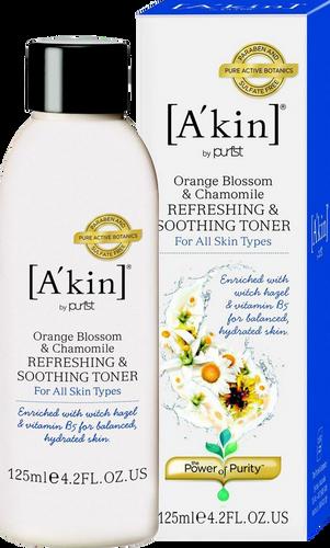 A'kin Orange Blossom & Chamomile Refreshing & Soothing Toner