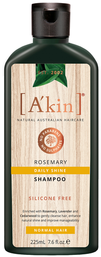 A'kin Rosemary Shampoo - 225ml
