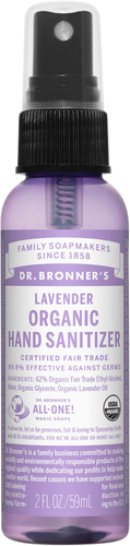 Dr Bronner's Organic Lavender Hand Sanitizer