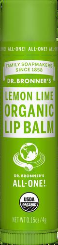 Dr Bronner's Organic Lip Balm Lemon Lime