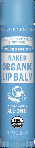 Dr Bronner's Organic Lip Balm Naked