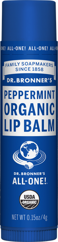 Dr Bronner's Organic Lip Balm Peppermint