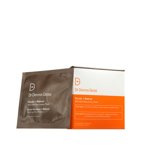 Dr Dennis Gross Ferulic+Retinol Wrinkle Recovery Peel - 16 applications