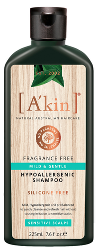 A'kin Mild & Gentle Shampoo - 225ml