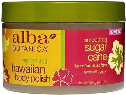 Alba Botanica Natural Hawaiian Body Polish Smoothing Sugar Cane