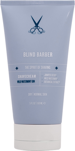 Blind Barber Wild Watermint Gin Shave Cream - 50ml