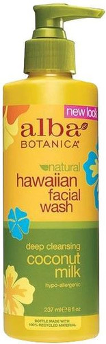 Alba Botanica Natural Hawaiian Coconut Milk Facial Wash