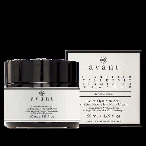 avant Deluxe Hyaluronic Acid Vivifying Face & Eye Night Cream