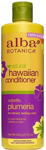 Alba Botanica Natural Hawaiian Conditioner Colorific Plumeria