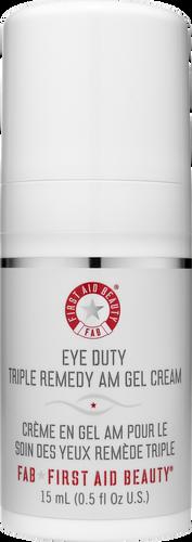 First Aid Beauty Eye Duty Triple Remedy AM Gel Cream