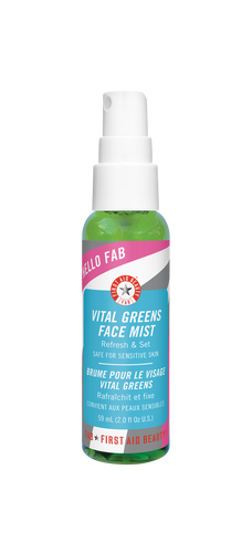 First Aid Beauty Hello FAB Vital Greens Face Juice & Setting Spray