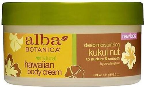 Alba Botanica Natural Hawaiian Kukui Nut Body Cream