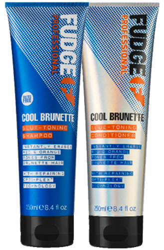 Fudge Cool Brunette Blue Toning Duo - 2 x 250ml