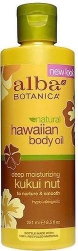 Alba Botanica Natural Hawaiian Kukui Nut Body Oil