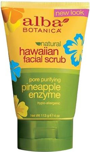Alba Botanica Natural Hawaiian Pineapple Enzyme Facial Scrub