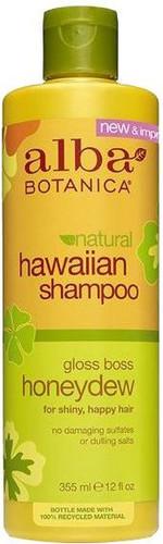 Alba Botanica Natural Hawaiian Shampoo Gloss Boss Honeydew