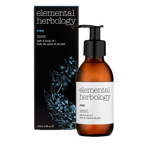Elemental Herbology Fire Zest Bath and Body Oil