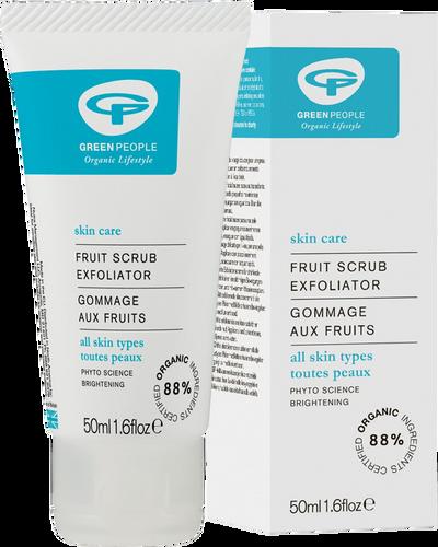 Green People Fruit Scrub Exfoliator - 50ml