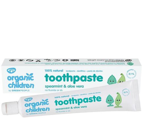 Green People Organic Spearmint & Aloe Vera Toothpaste - 50ml