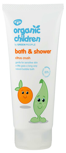 Green People Organic Children Bath & Shower Citrus Crush