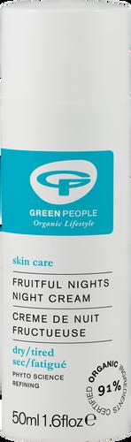 Green People Fruitful Nights Night Cream - 50ml