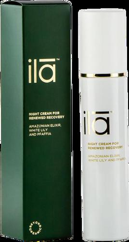 ila Night Cream for Renewed Recovery