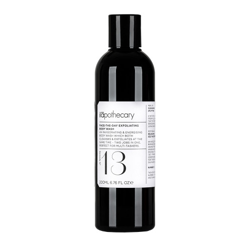 ilapothecary Formula No. 13: Face the Day Exfoliating Body Wash