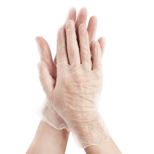 Gloveman Protective Vinyl Application Gloves - 1 Pair - Medium Size