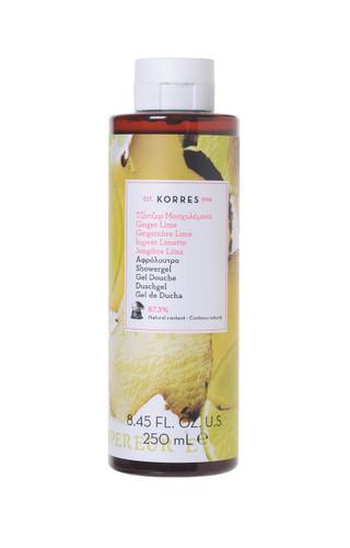 Korres Ginger Lime Showergel