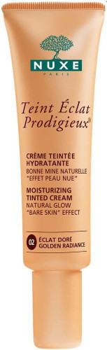 Nuxe Teint Eclat Prodigieux Tinted Moisturising Cream - Golden Radiance 30ml