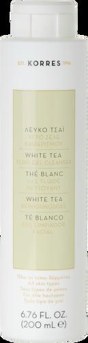 Korres White Tea Facial Fluid Gel Cleanser - 200ml