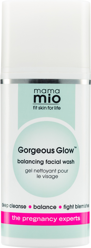 Mama Mio Gorgeous Glow Facial Wash