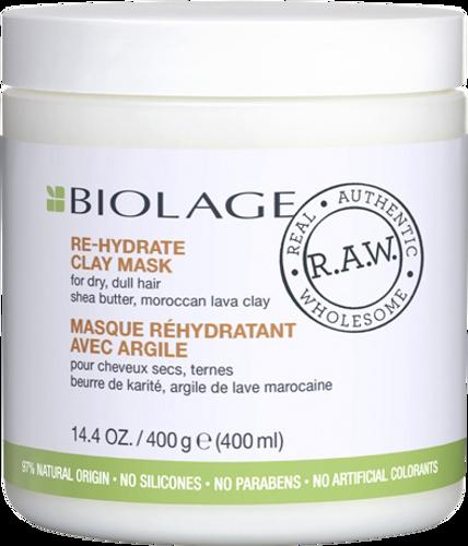 Matrix Biolage R.A.W. Re-Hydrate Clay Mask