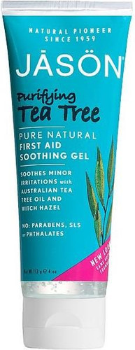 Jason Purifying Tea Tree Pure Natural First Aid Soothing Gel