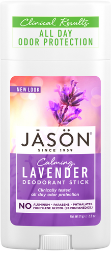 Jason Calming Lavender Pure Natural Deodorant Stick
