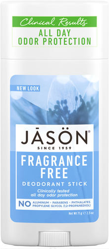 Jason Fragrance Free Pure Natural Deodorant Stick