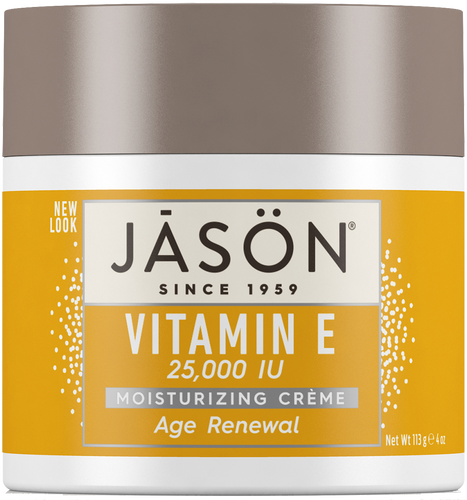 Jason Age Renewal Vitamin E 25,000 IU Pure Natural Moisturizing Creme
