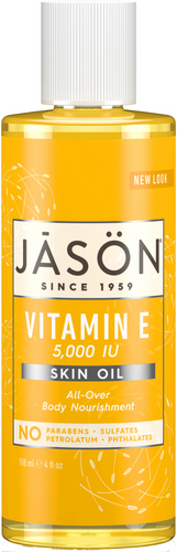 Jason Vitamin E 5,000 IU Pure Natural Skin Oil