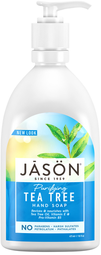 Jason Purifying Tea Tree Pure Natural Hand Soap