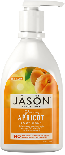 Jason Glowing Apricot Pure Natural Body Wash