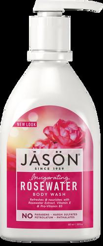 Jason Invigorating Rosewater Pure Natural Body Wash