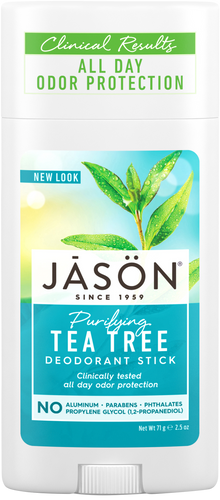 Jason Purifying Tea Tree Pure Natural Deodorant Stick