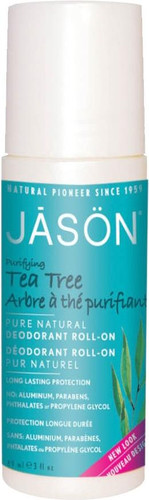 Jason Purifying Tea Tree Pure Natural Deodorant Roll On