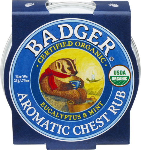 Badger Balm Aromatic Chest Rub