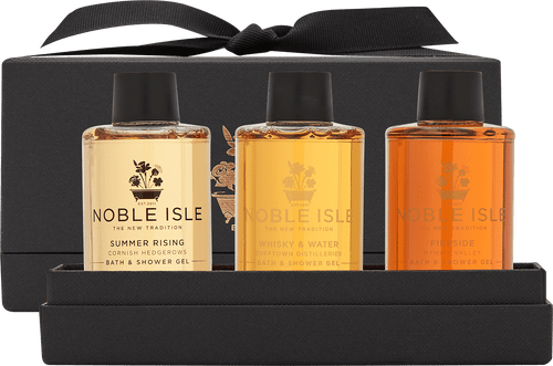 Noble Isle Warm & Spicy Shower Trio