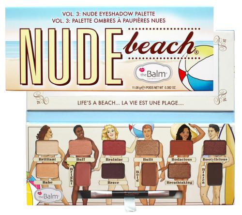 The Balm Nude Beach Palette