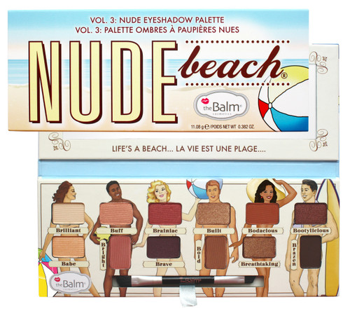 The Balm Nude Beach Palette