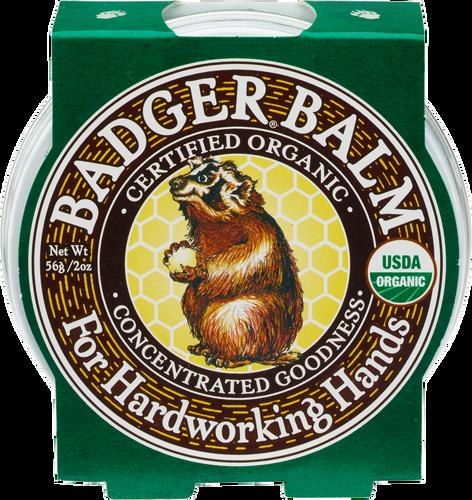 Badger Balm Healing Balm for Hardworking Hands - 56g