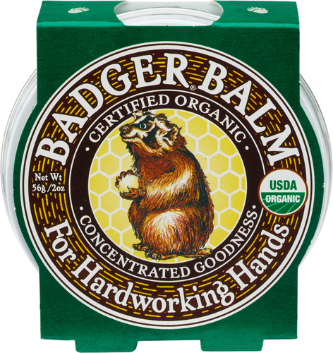 Badger Balm Healing Balm for Hardworking Hands - 56g