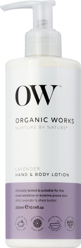 Organic Works Lavender Hand & Body Lotion